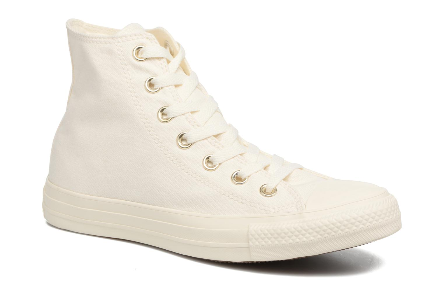 Zapatos promocionales Converse Chuck Taylor All Star Mono Glam Canvas Color Hi W (Blanco) - Deportivas   Casual salvaje
